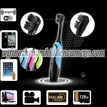 Best Wireless Hidden Spy Cameras HD 1080P Hidden Toothbrush Camera For iOSAndriod System