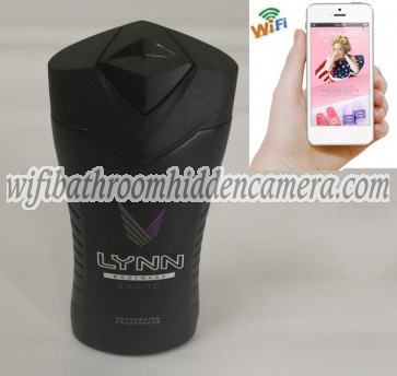 Cheap Wifi Spy Camera HD 1080P Spy Bathroom shampooshower gel Camera For iOSAndriod System