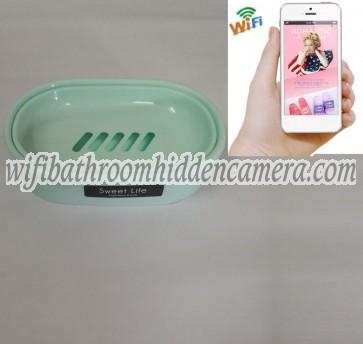 Covert Surveillance Cameras Wireless HD 1080P Spy Bathroom Soap BoxDish Camera For iOSAndriod System