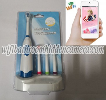 Covert Wireless Ip Camera HD 1080P Hidden Toothbrush Camera For iOSAndriod System