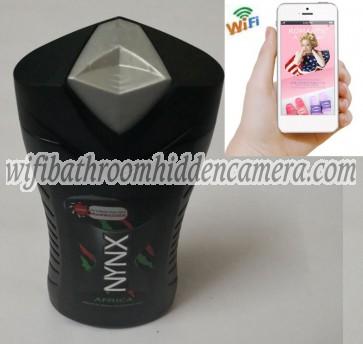 Hidden Spy Camera Wifi HD 1080P Spy Bathroom shampooshower gel Camera For iOSAndriod System