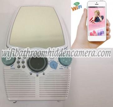 Hidden Spy Cameras For Home Wireless HD 1080P Hidden Bathroom Radio Camera For iOSAndriod System