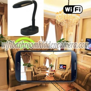 Internet Hidden Cameras Wireless HD 1080P Hidden Desk Lamp Camera For iOSAndriod System