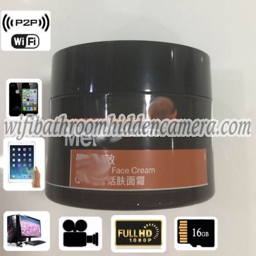 Mini Wireless Camera HD 1080P Face Care Cream Hidden Camera For iOSAndriod System