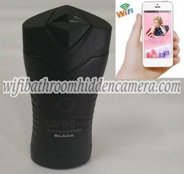 Miniature Wifi Camera HD 1080P Spy Bathroom shampooshower gel Camera For iOSAndriod System