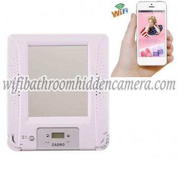 Small Wifi Camera HD 1080P Hidden Bathroom Shower Radio Camera For iOSAndriod System