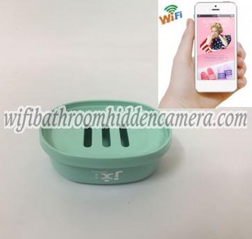 Small Wireless Wifi Camera HD 1080P Spy Bathroom Soap BoxDish Camera For iOSAndriod System