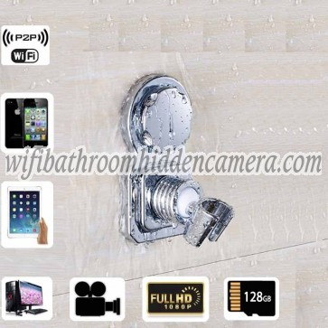 Smallest Wireless Spy Camera HD 1080P Spy Bathroom Shower Rack Camera For iOSAndriod System
