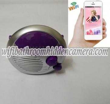 Wifi Camera HD 1080P Hidden Bathroom Shower Radio Camera For iOSAndriod System