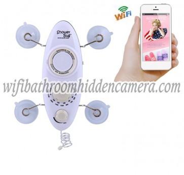 Wifi Dvr Hidden Cameras HD 1080P Hidden Bathroom Shower Radio Camera For iOSAndriod System