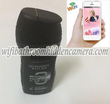 Wifi nanny Camera HD 1080P Spy Bathroom shampooshower gel Camera For iOSAndriod System