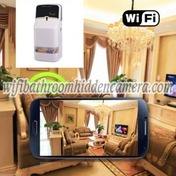 Wifi Pinhole Camera HD 1080P Hidden Hydronium Air Purifier Camera For iOSAndriod System