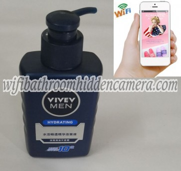 Wifi Remote Wireless Ip Hidden Camera HD 1080P Spy Bathroom shampooshower gel Camera For iOSAndriod System