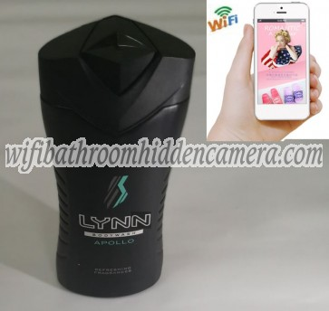 Wifi Spy Camera System HD 1080P Spy Bathroom shampooshower gel Camera For iOSAndriod System