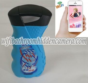 Wifi Spy Camera With Recording & Remote Internet Access HD 1080P Spy Bathroom shampooshower gel Camera For iOSAndriod System
