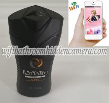 Wifi Spy Cameras For Home HD 1080P Spy Bathroom shampooshower gel Camera For iOSAndriod System