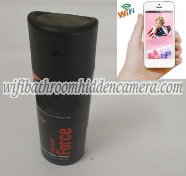 Wireless Camera Frangrance Spray Bottle in Bathroom Full HD 1080P For iOSAndriod System