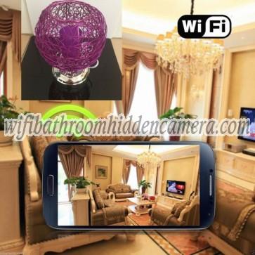 Wireless Spy Camera HD 1080P Hidden Desk Lamp Camera For iOS/Andriod System