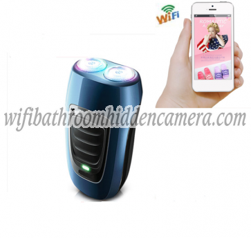 Wireless Spy Camera System HD 1080P Shaver Hidden Camera For iOS/Andriod System