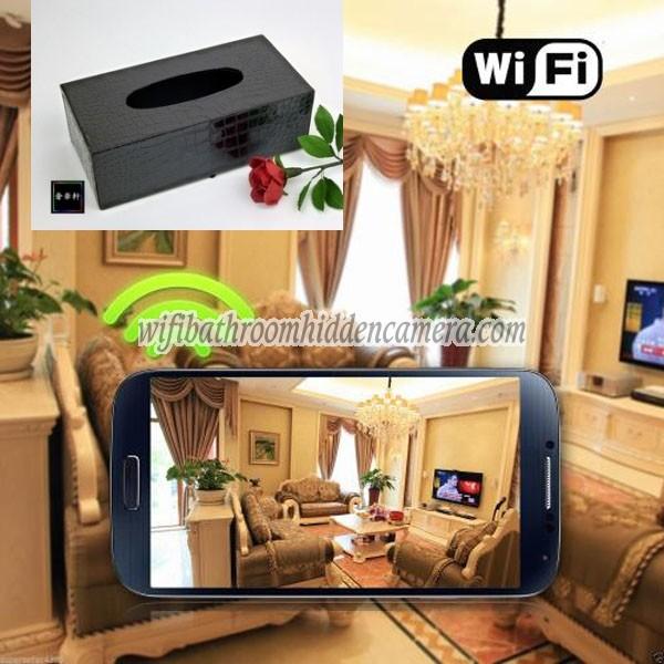 Spy Cameras Wireless Hd 1080p Hidden Toilet Tissue Box Camera For Iosandriod System