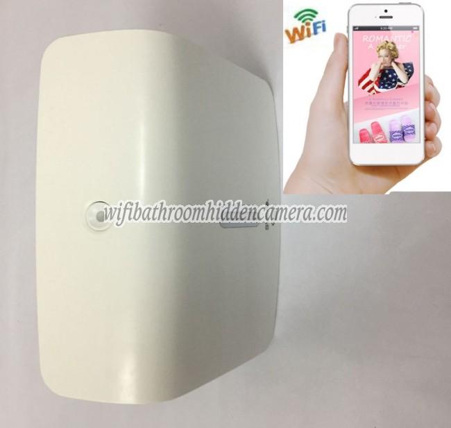 Mini Wireless Wifi Spy Camera Hd 1080p Hidden Toilet Tissue Box For Iosandriod System