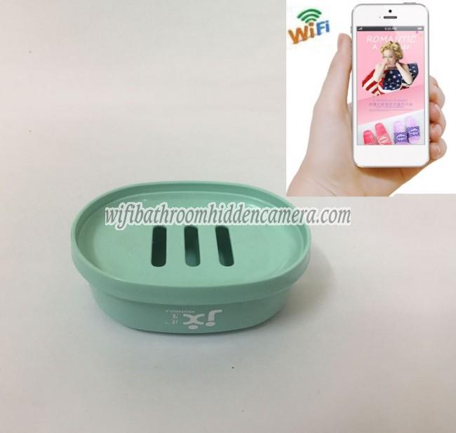 Small Wireless Wifi Camera Hd 1080p Spy Bathroom Soap Box Dish