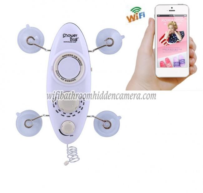 Wifi Dvr Hidden Cameras HD 1080P Hidden Bathroom Shower ...