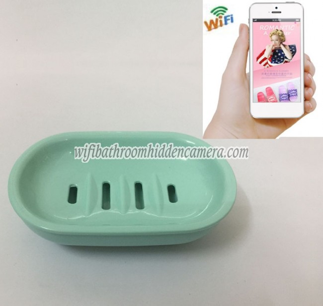 Hd 1080p Spy Bathroom Soap Box Dish