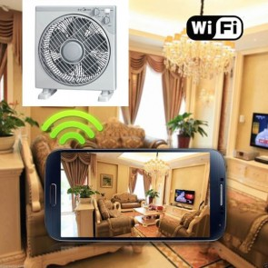 Concealed Camera Wireless HD 1080P Hidden Home Fan Camera For iOSAndriod System