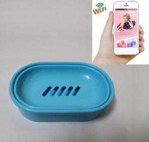 Mini Hidden Camera Wifi HD 1080P Spy Bathroom Soap BoxDish Camera For iOSAndriod System