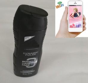 Small Wireless Wifi Camera HD 1080P Spy Bathroom shampooshower gel Camera For iOSAndriod System