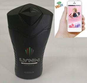 Wifi Video Camera HD 1080P Spy Bathroom shampooshower gel Camera For iOSAndriod System