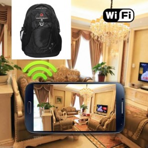 Wireless Hidden Camera To Cell Phone HD 1080P Hidden Bagpack Camera For iOSAndriod System
