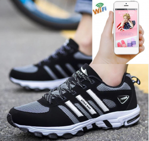 Wireless Spy Camera For Android 16G HD 1080P Shose Hidden Camera For iOS/Andriod System