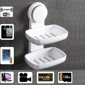 Wireless Spy Camera For Iphone HD 1080P Spy Bathroom Soap BoxDish Camera For iOSAndriod System