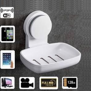 Wireless Spy Video Camera HD 1080P Spy Bathroom Soap BoxDish Camera For iOSAndriod System