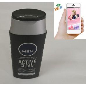 Covert Wifi Ip Camera HD 1080P Spy Bathroom shampooshower gel Camera For iOSAndriod System