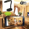 Internet Hidden Cameras Wireless HD 1080P Hidden Desk Lamp Camera For iOS/Andriod System