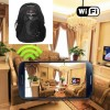 Wireless Hidden Camera To Cell Phone HD 1080P Hidden Bagpack Camera For iOS/Andriod System