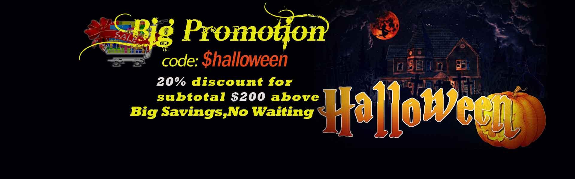 promotion 2019 Halloween Celebration