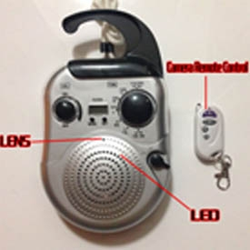 covert trail radio cameras in Bathroom 16G Full HD 720P DVR with motion sensor